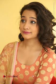 Telugu Actress Santoshi Sharma Latest Stills in Salwar Kameez at HBD Movie Teaser Launch  0059.JPG