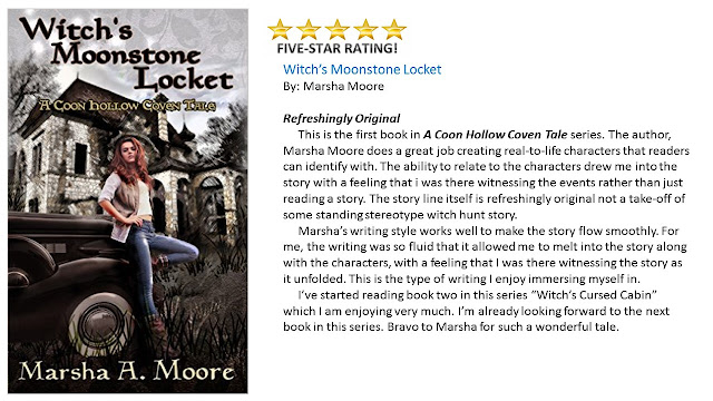 Witch's Moonstone Locket