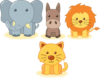 10 Minutes How To Make Cartoon Lion With Coreldraw Cara Edit