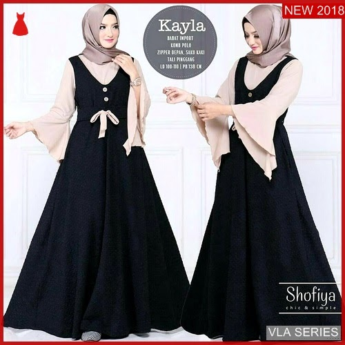 VLA007K127 Model Dress Kayla Terbaru Murah BMGShop