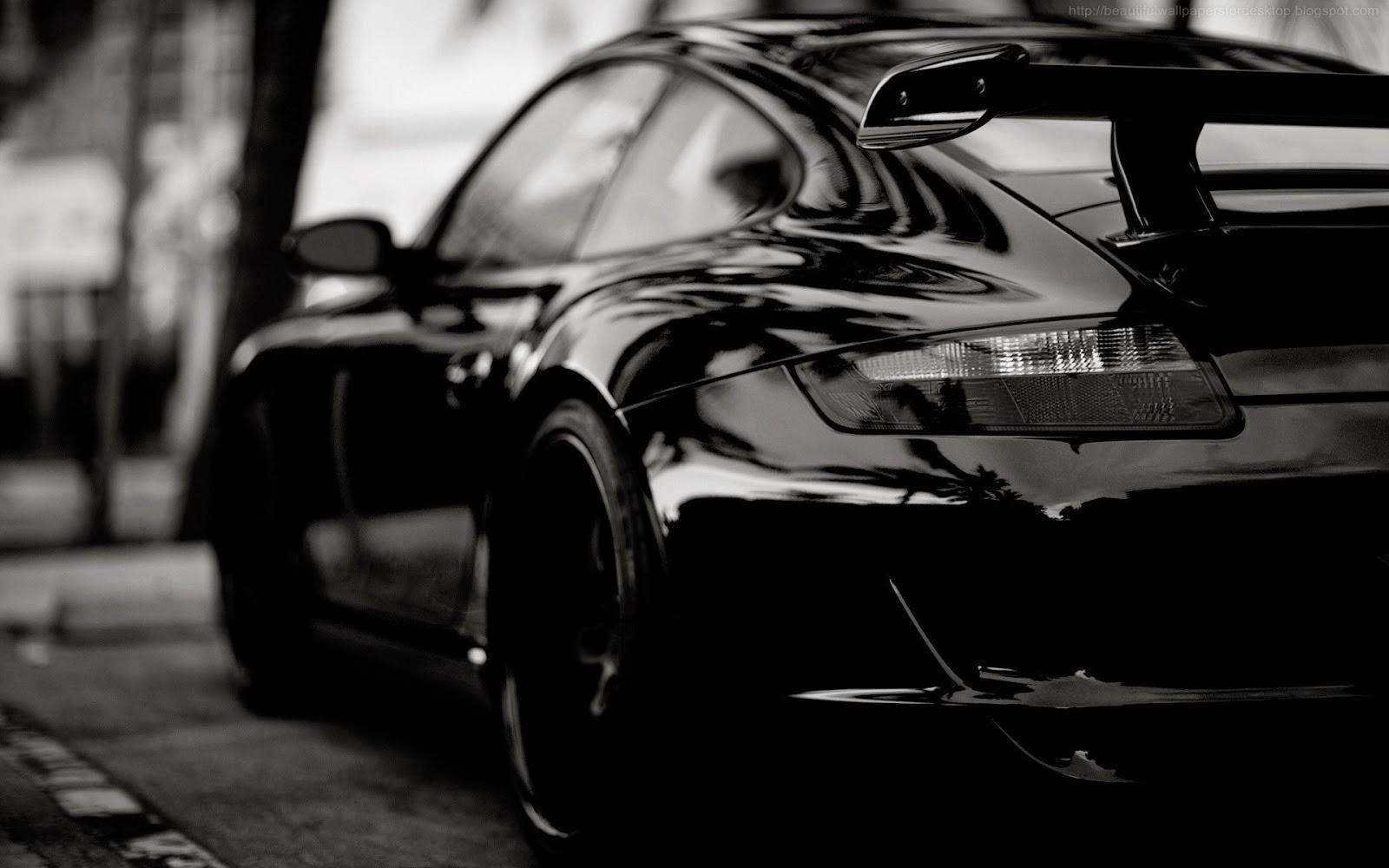 Beautiful Black Car Wallpapers