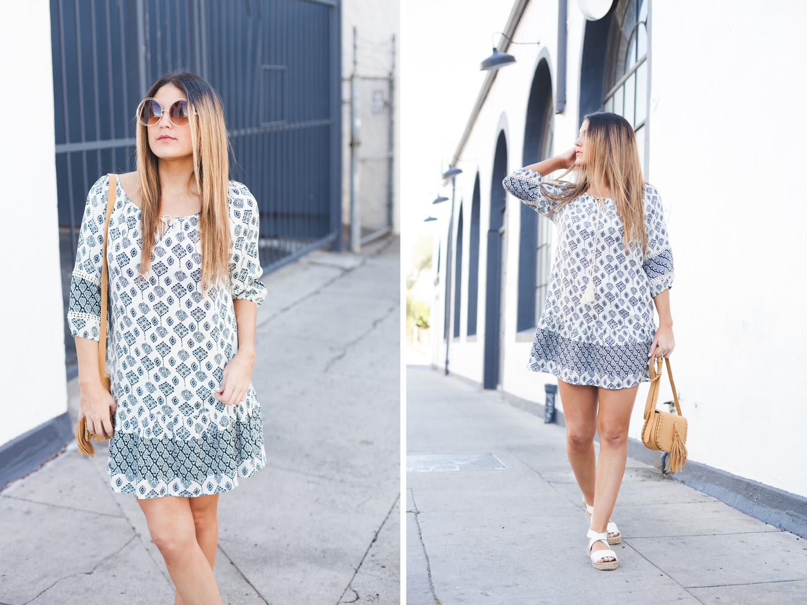 Seaside Boutique Printed Dress - My Cup of Chic
