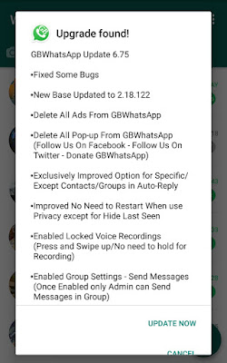 Download Latest Gbwhatsapp V6.75 APK For Android 2018