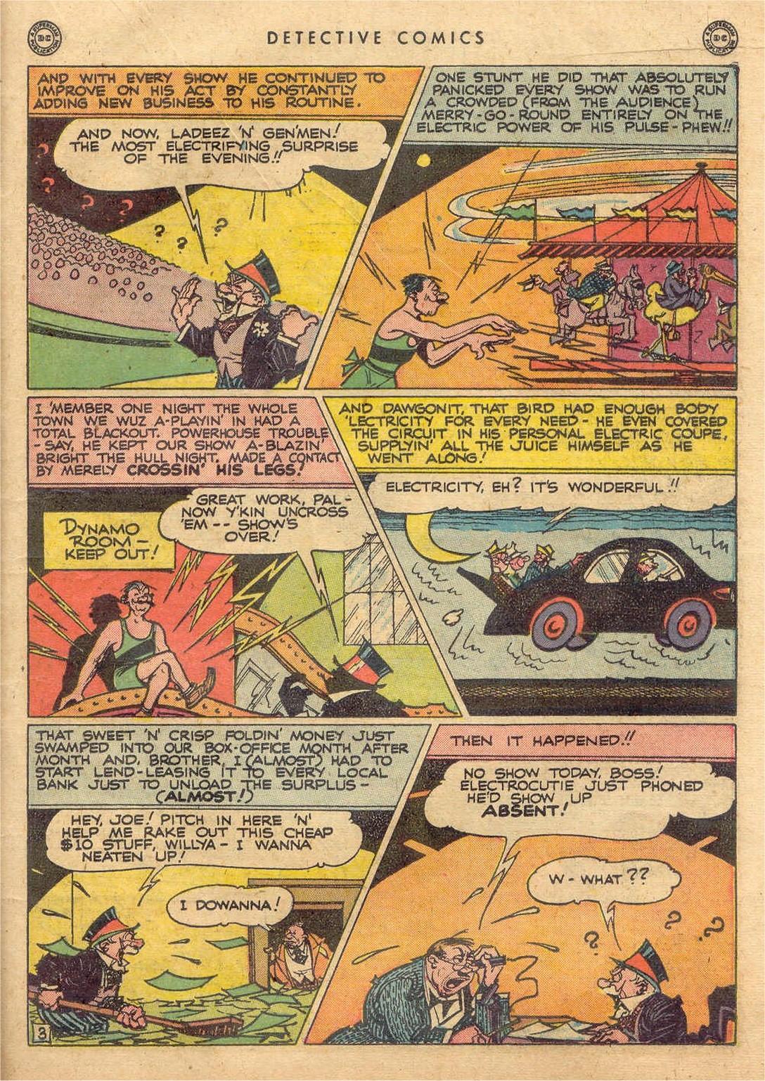 Read online Detective Comics (1937) comic -  Issue #132 - 33