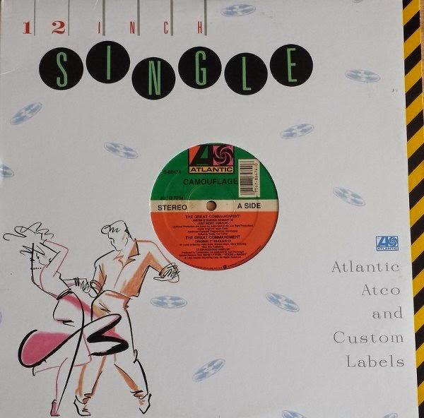 4f9c4120dc Camouflage - The Great Commandment (Maxi Vinyl) - 1988 ~ Dance Vinilo CD