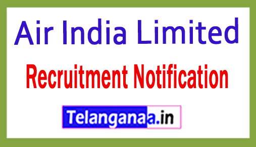 Air India Limited Recruitment