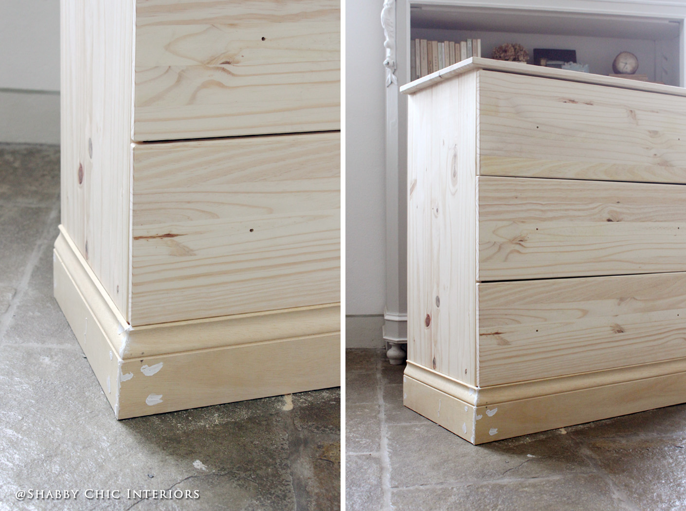 Restyling Di Una Cassettiera Ikea Shabby Chic Interiors