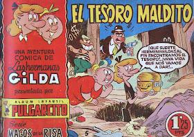 Magos de la risa, nº 5 Las hermanas Gilda, El tesoro maldito