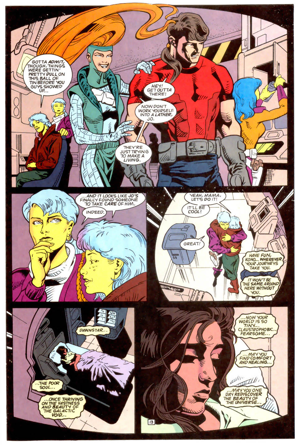Legion of Super-Heroes (1989) 50 Page 13