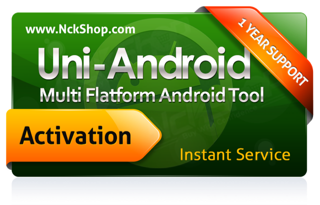 Uni-Android Tool - Activation