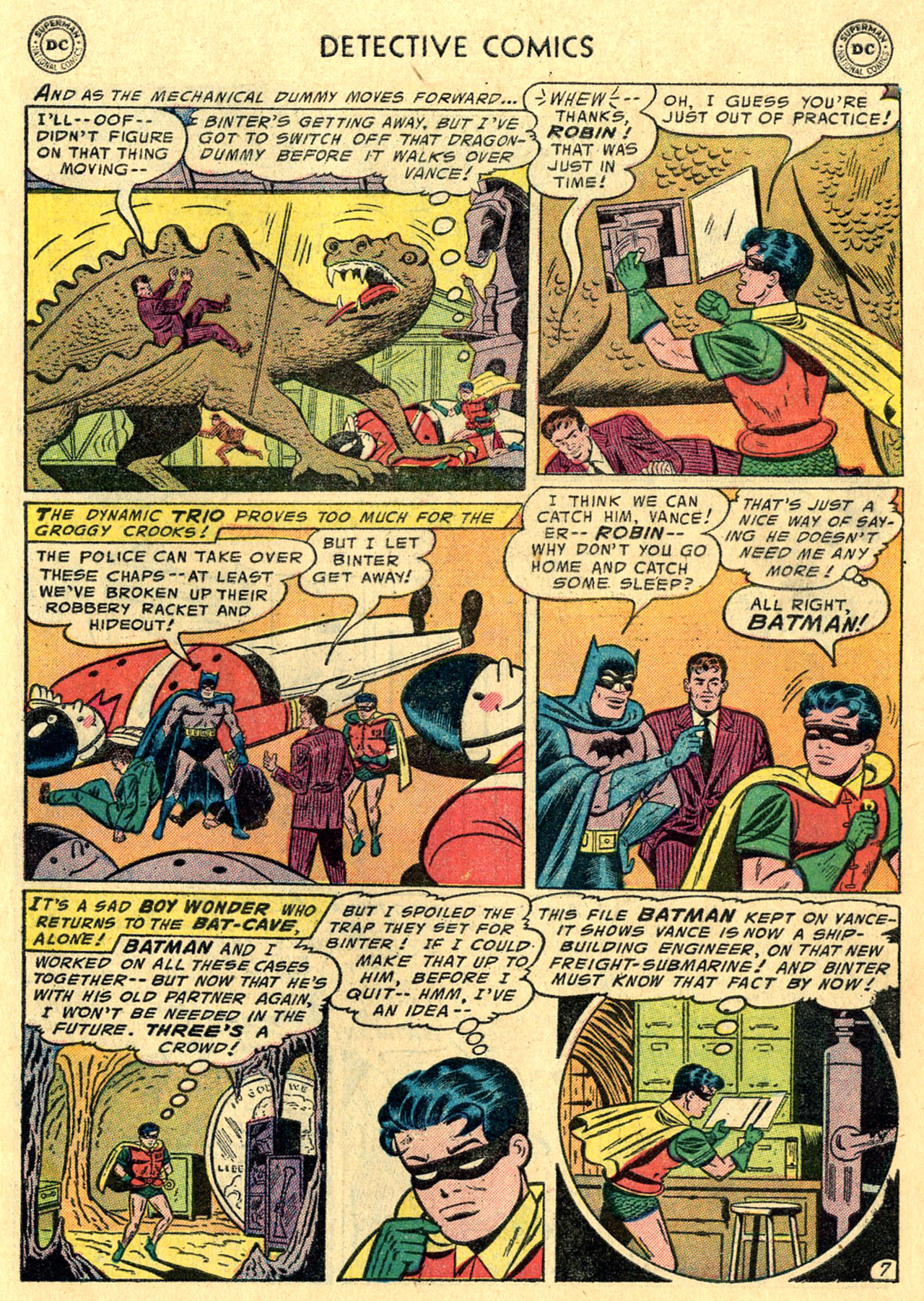 Detective Comics (1937) 231 Page 8