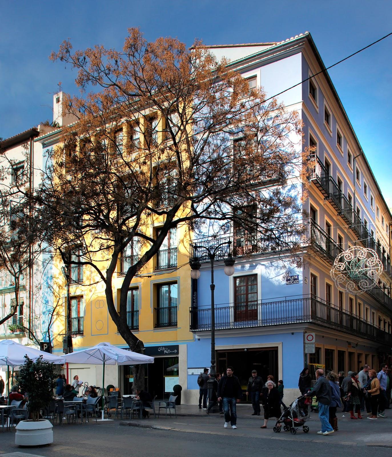 Viccarbe myr hotel plaza mercado valence agence at for Hotel design valence