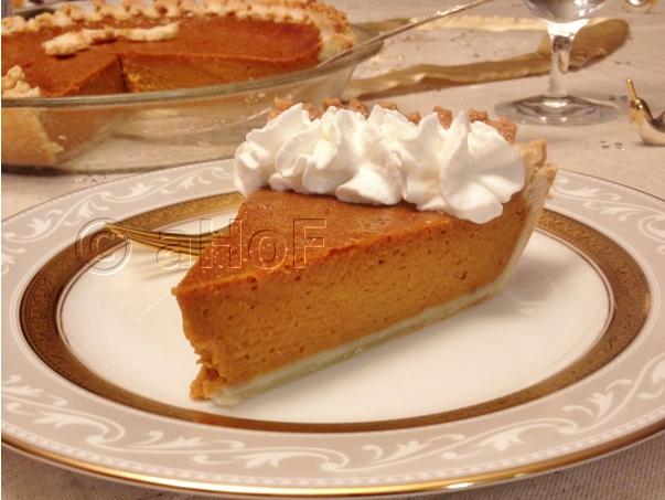 Spicier Pumpkin Pie with Galeux D'Eysines Pumpkin