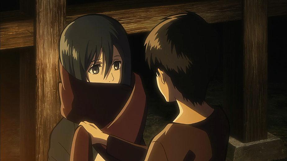 Syal Merah Mikasa