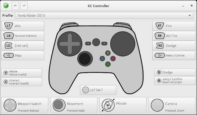SC Controller permite usar o Steam Controller sem o Steam.