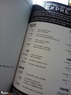 Ein kleiner Exkurs in die Handschriftenanlyse aus dem Buch Handlettering for everyone