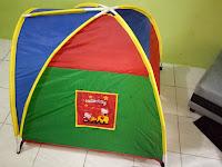 Cara Pasang Tenda Mainan Anak