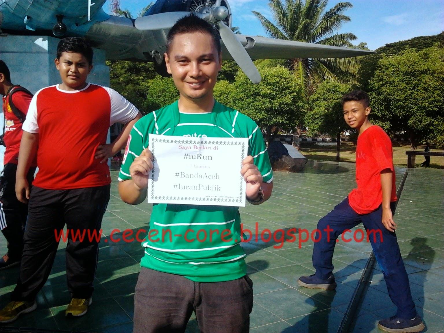 Arisandy Joan Hardiputra #iuRun Banda Aceh