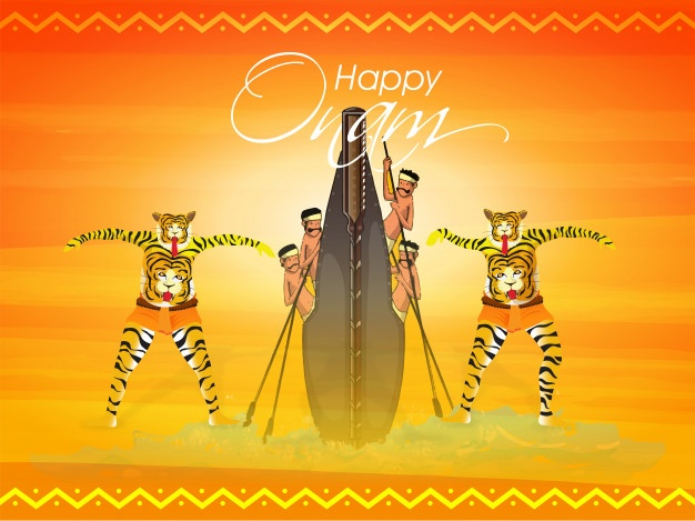 Onam festival celebration pulikali wallpapers