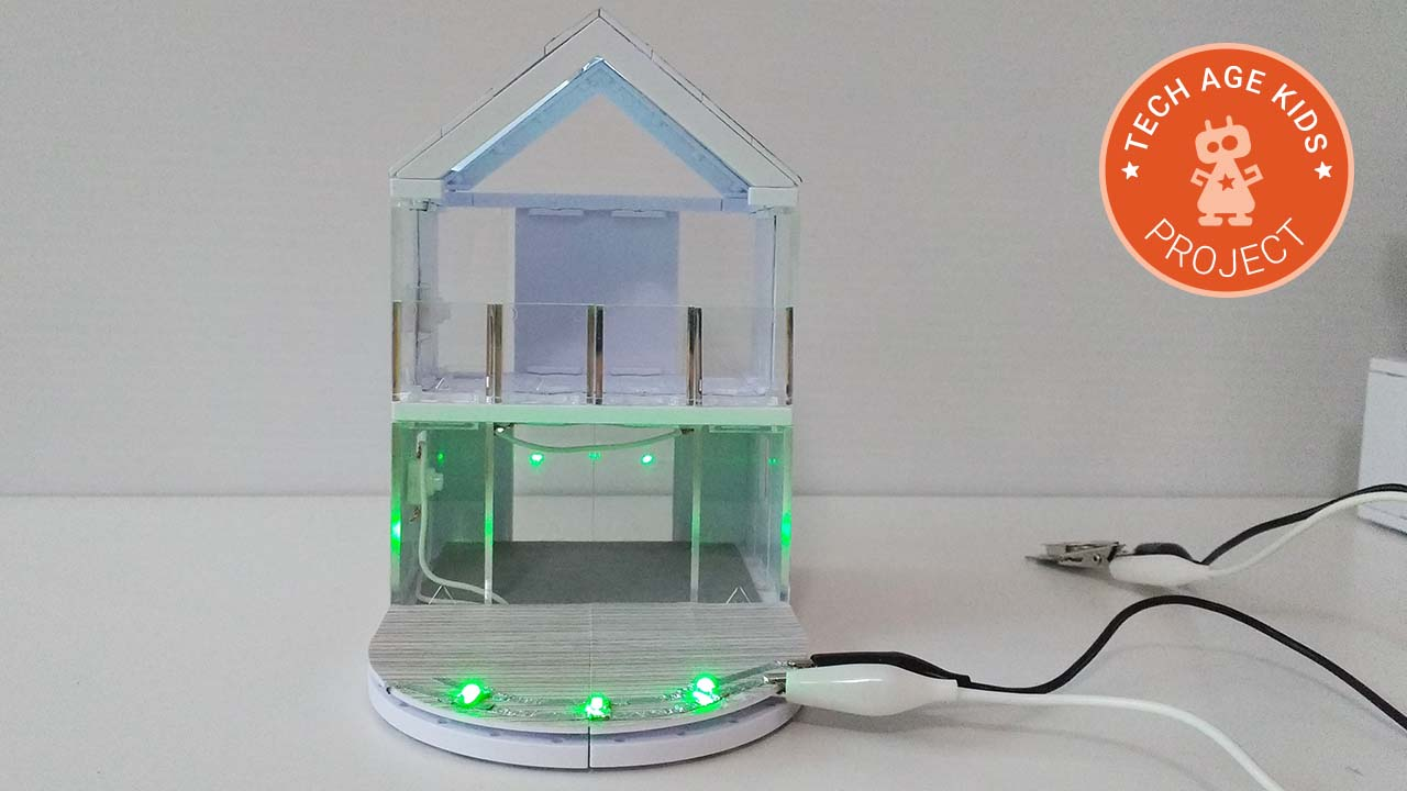 Arckit Gets Led Sequin Deck Lights Fun Kids Circuit Experimentation Weve Been Experimenting With More Realistic Lighting For Adding To Construction Models Previously Created Some Steam Projects Using The