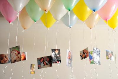 decorar decora decoração festa aniversario bola balão balões bexiga bexigas enfeite enfeitar mesa bolo lindo facil simples barato criativo teto helio foto