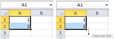 Membuat Nomor Urut dengan Cepat di Microsoft Excel