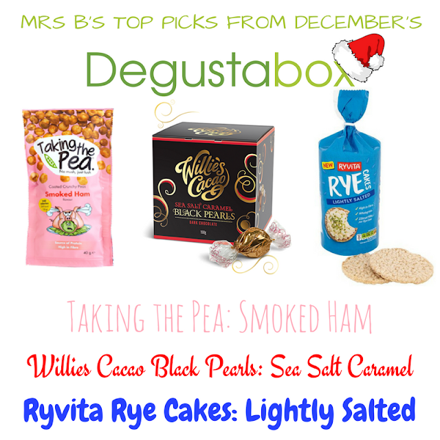 December 2017 Degustabox Top Three