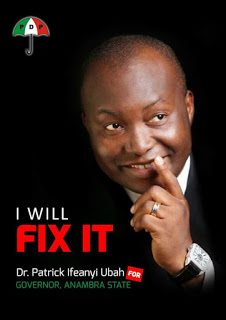 Anambra 2017: PDP and the Dr. Patrick Ifeanyi Ubah Option