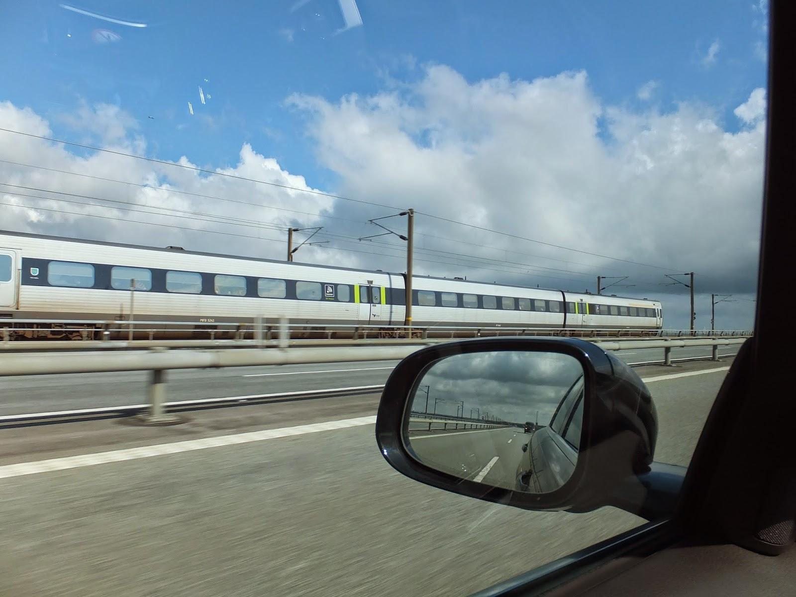 Storebælt-bridge-denmark-with-train