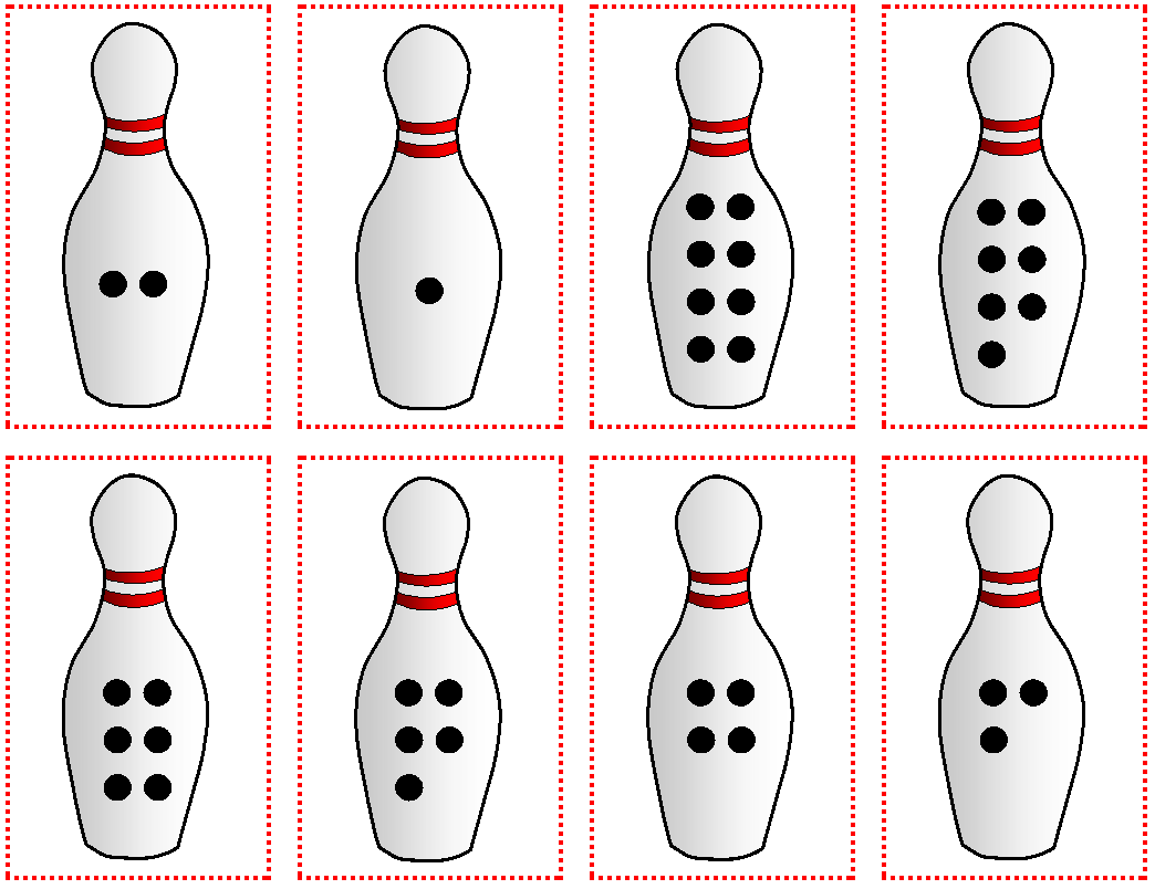 photograph about Bowling Pin Printable named Relentlessly Exciting, Deceptively Enlightening: Printable Figures