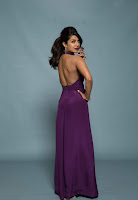Priyanka Chopra in Mesmerizing Purple Backless Deep neck Gown 10).jpg