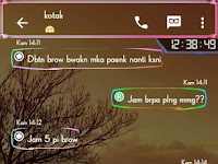 Download BBM Neon Light Transparent MOD Apk Terbaru 2016