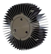 circular finned heatsink for 10 watt led