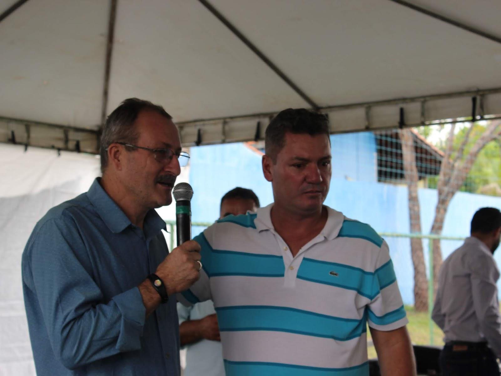 IMG 2839 - Novo administrador do Paranoá, Sergio Damasceno, começa seu primeiro dia de trabalho no Domingo ouvindo a comunidade local.