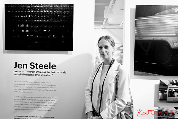 Jen, Kodak Ektra will present Stories of Change art opening. Street Fashion Sydney, New York Edition photographed by Kent Johnson.
