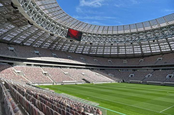 Stadium Luzhniki - Venue Akhir Piala Dunia 2018 di Russia