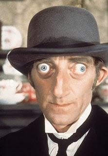 Marty Feldman , exoftalmos, ojos saltones