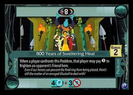 My Little Pony 800 Years of Sweltering Heat Canterlot Nights CCG Card