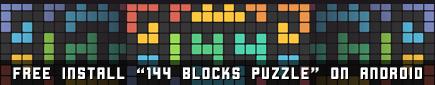 144 Blocks Puzzle