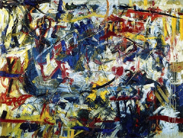 Michael Goldberg - Action Paintings & Abstract Expressionism