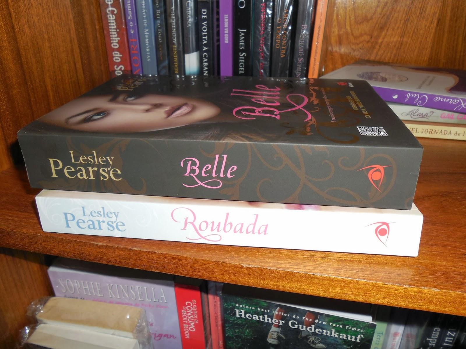 1e5cb107c Ainda não li nenhum livro da Leasley Pearse mas comprei esses dois, e sei  que ainda tem mais títulos para minha coleção! Acho as capas lindas <3!