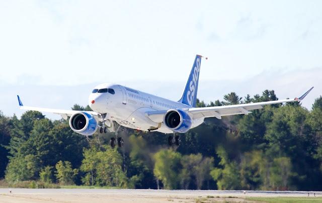 Bombardier CSeries, the CS100