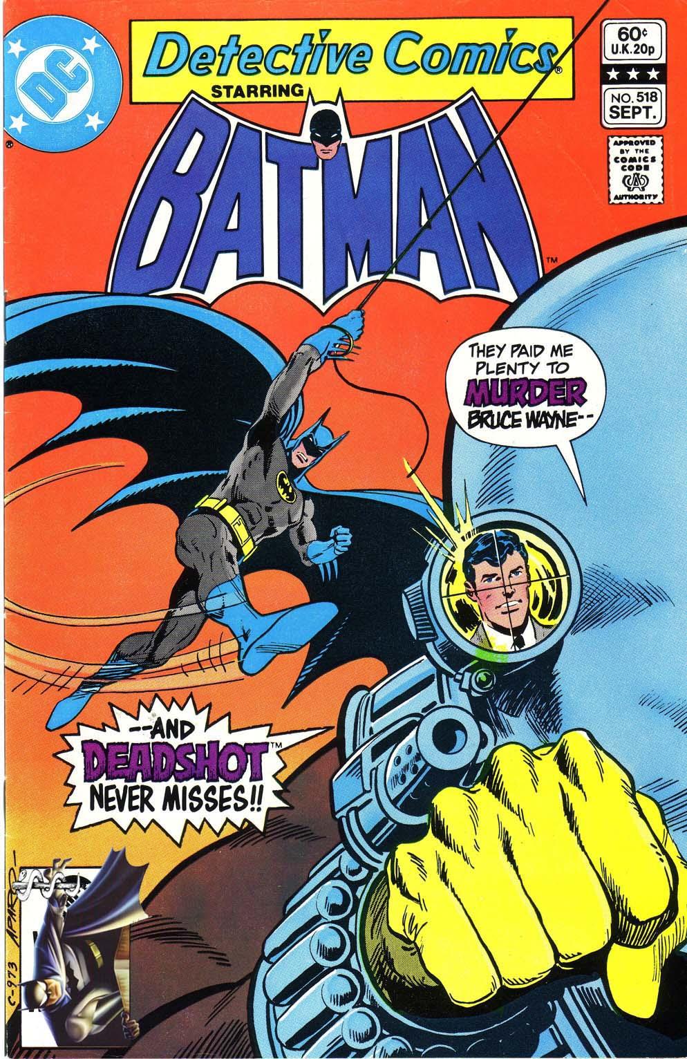 Detective Comics (1937) 518 Page 1