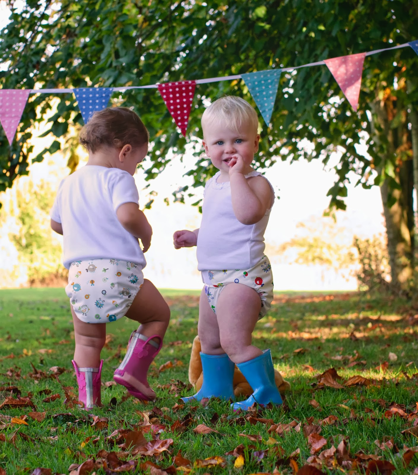 bunting and bambino mio cloth nappies