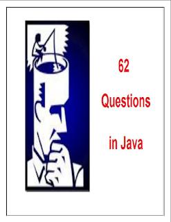 كتاب 62 سؤالا احترافيا في الجافا - 62 Questions in Java