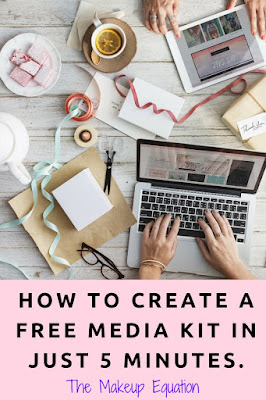 How to Create A Free Media Kit In 5 Minutes