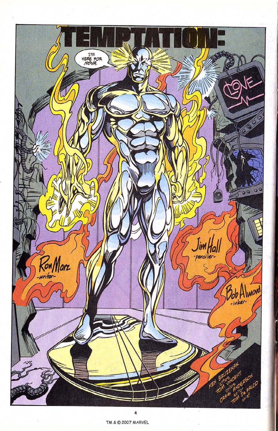 Read online Silver Surfer (1987) comic -  Issue #99 - 6