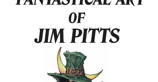 Half price (plus free postage) on any of the Jim Pitts Prints for anyone who buys a copy of The Fantastical Art of Jim Pitts