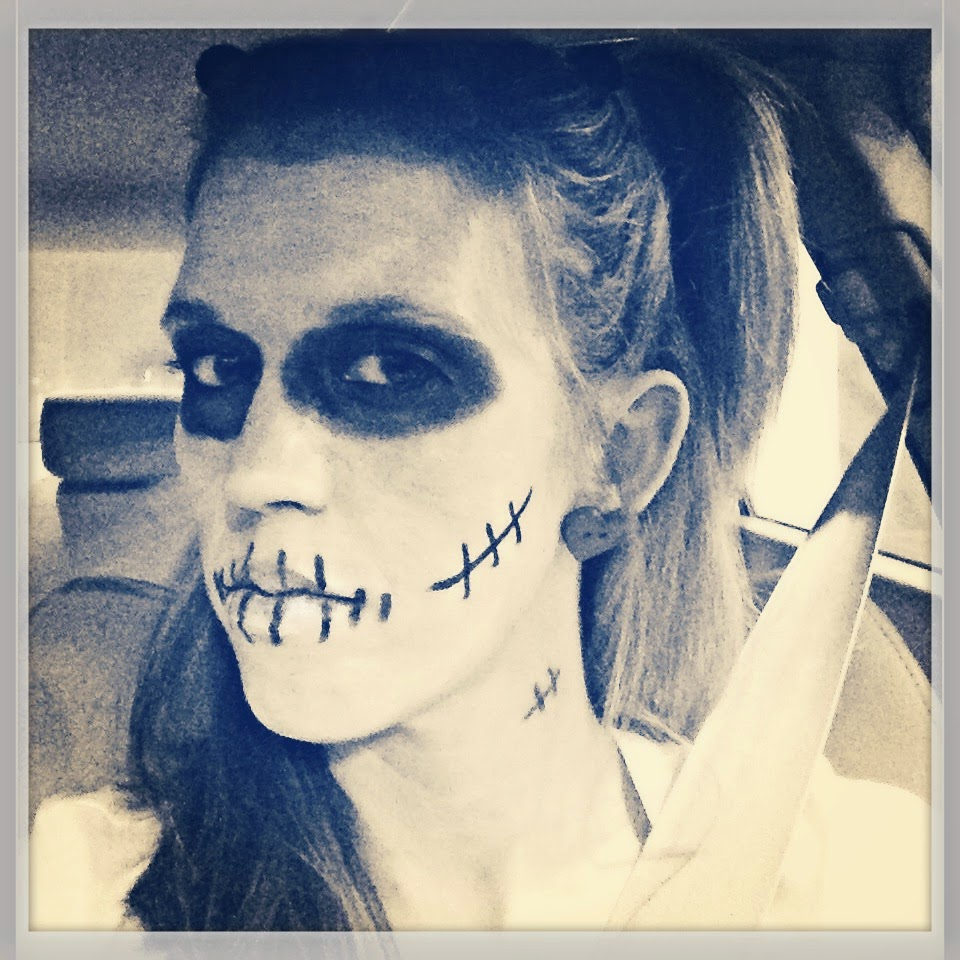 Halloween Makeup: Voo Doo Doll