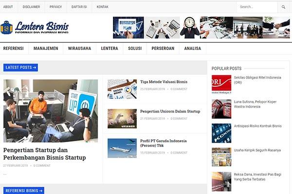 Profil Perusahaan di Lentera Bisnis